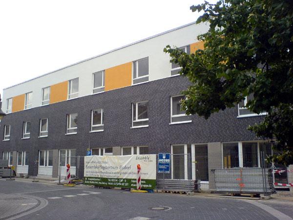Elsdorfer altenheim vor fertigstellung